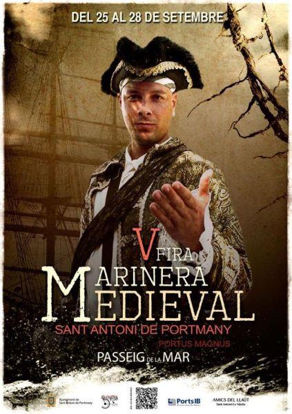 Feria Marinera medieval sant antoni portmany