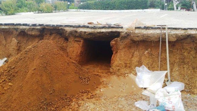 Excavaciones realizadas en Kyllini han dejado al descubierto una tumba de la época clásica. Crédito: Patrisnews