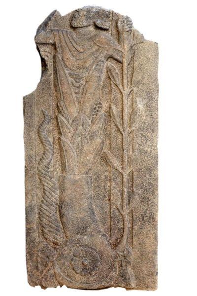 Estela romana con la representación de un dios desconocido hasta ahora. Universidad de Münster