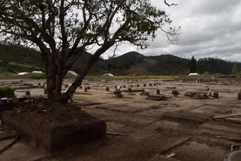 Yacimiento precolombino más antiguo de Colombia. Crédito: EPM