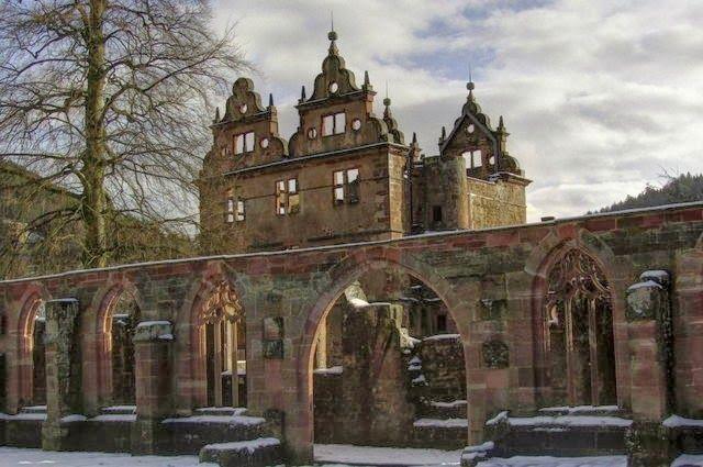 Monasterio siglo XV alemania