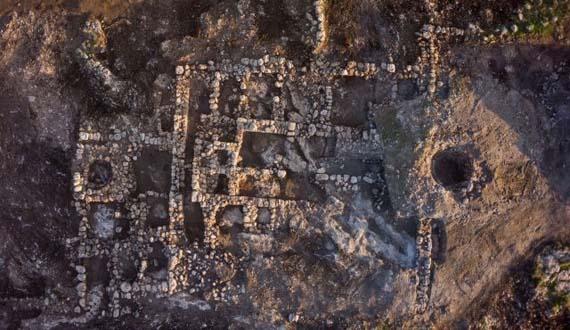 Granja de 2.800 años en Israel