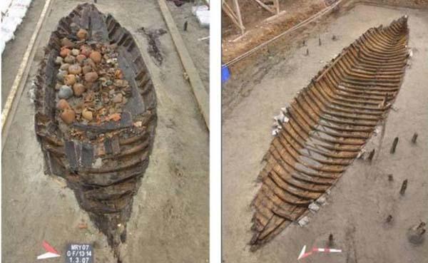 Naufragio Bizantino descubierto en las costas de Turquía. Crédito imagen: Upi.com