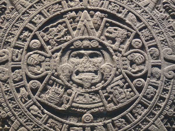 Piedra Solar Azteca. Crédito: CC