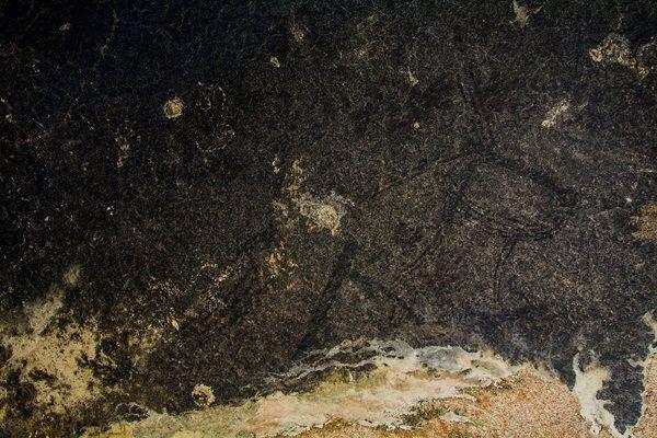 Pinturas rupestres halladas en Birmania.
