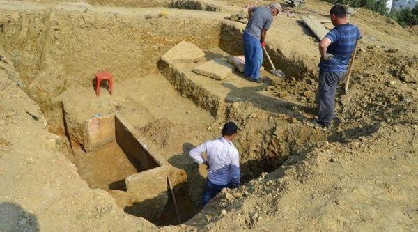 Sarcófago helenístico de 2.200 años encontrado en Turquía.
