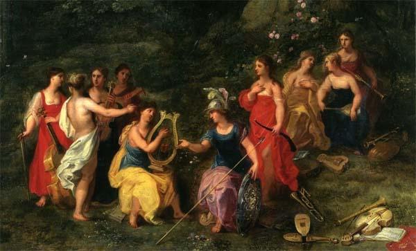 Las Musas griegas.