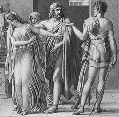 Fedra, en la mitología griega.