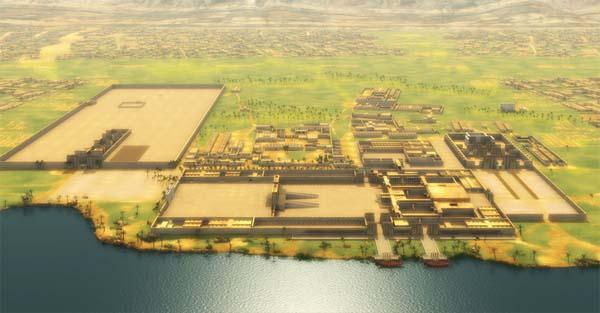 Amarna, en Egipto.