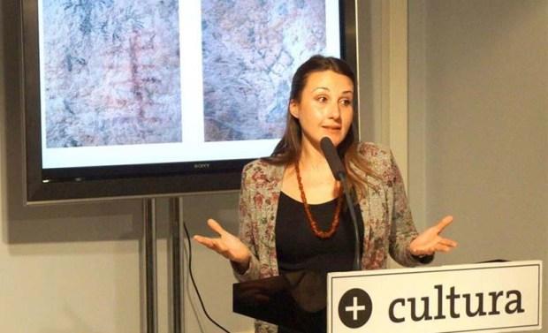 Presentación de las nuevas pinturas rupestres encontradas en Murcia. Crédito: Comunicae.