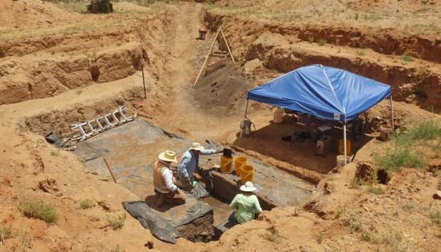 Importantes descubrimientos prehistóricos en Nuevo México. Crédito: EMERTC