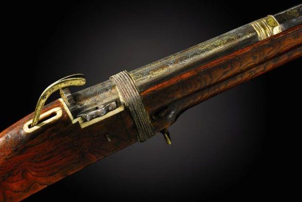 Primera arma imperial china. Crédito: Sotheby`s