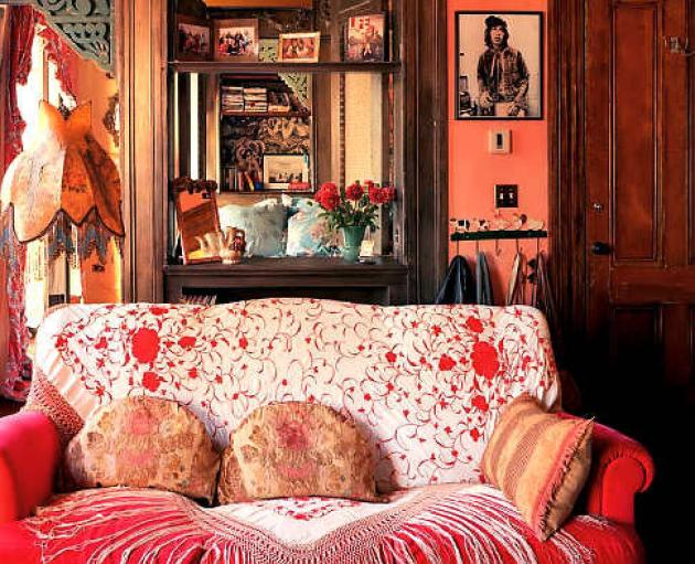 Elle Decor Pinterest Instant Bohemian: Decorating With Piano Shawls – Red House
