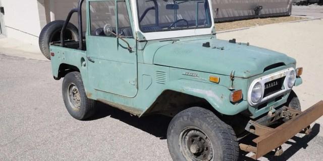 Toyota Land Cruiser Fj40 Archives