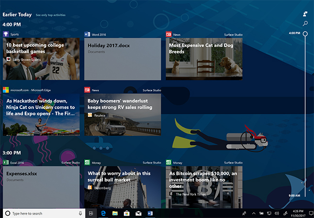 How To Use Windows 10 Timeline (While Protecting Your Privacy - timeline windows