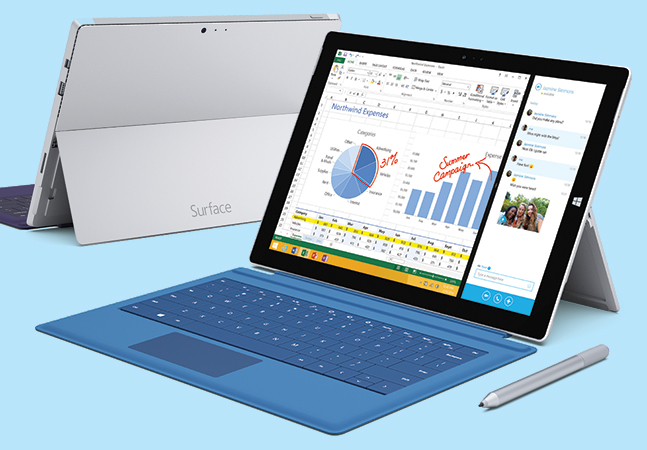 Microsoft Touts Its Surface Pro 3 for Business Use -- Redmondmag