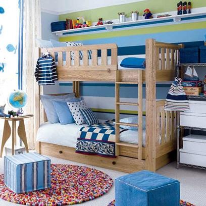 Childrenu0027s Room - Red Online - unisex bedroom ideas