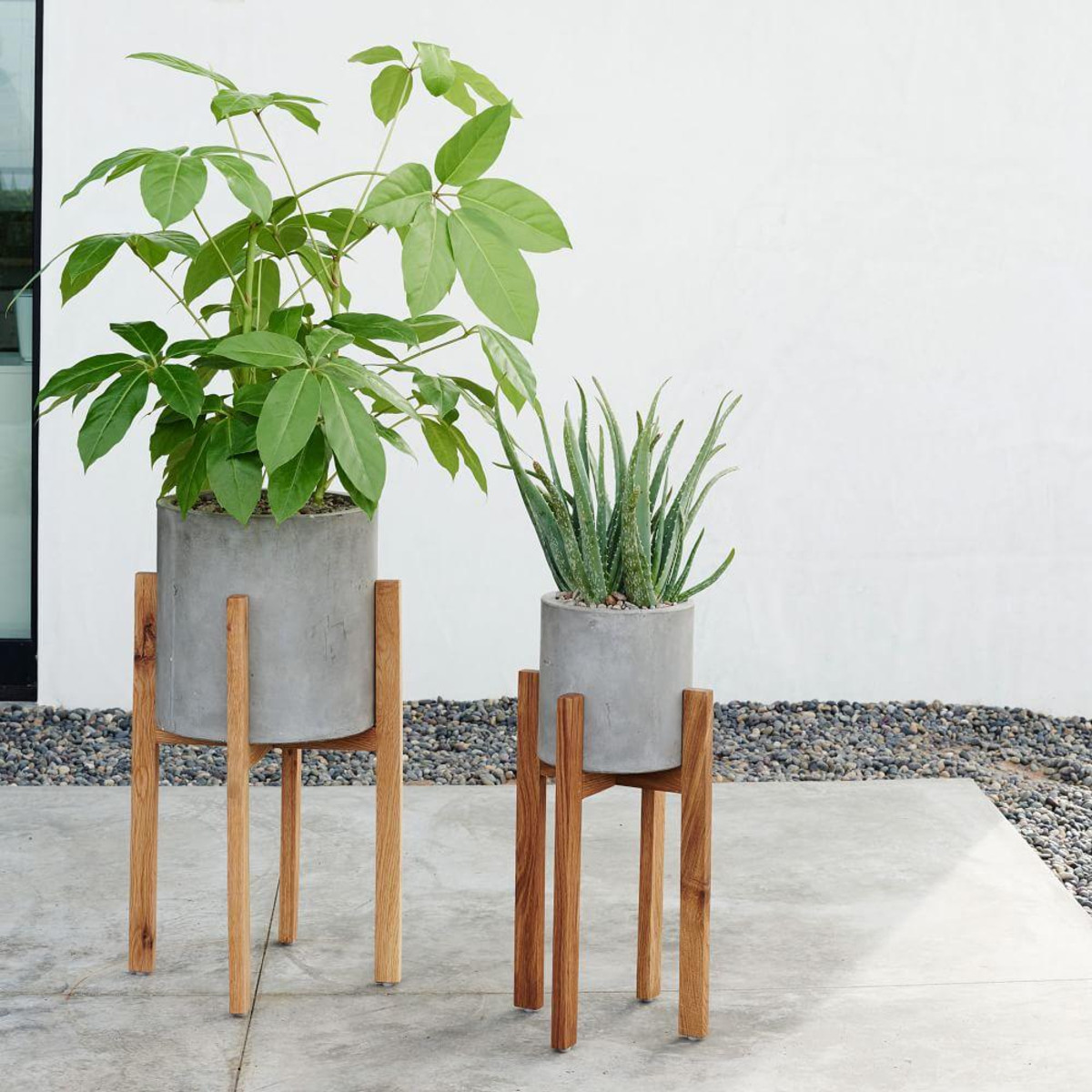 Modern Outdoor Plant Stand Stylish Planters Every Home Needs Interiors What To