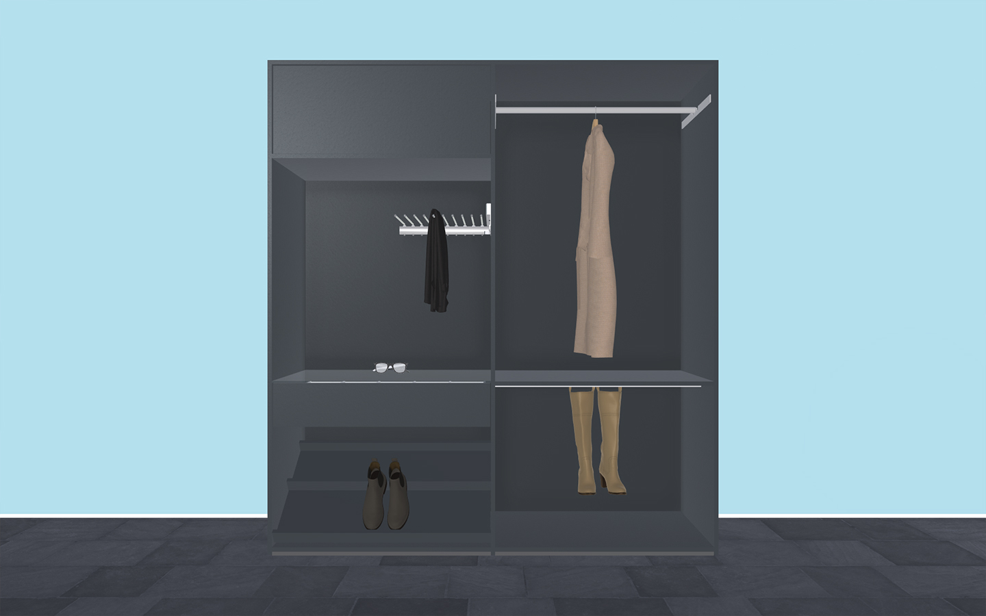 Ankleidezimmer Cabinet Webgl 3d Configurator My Dream Cabinet Redplant Realtime