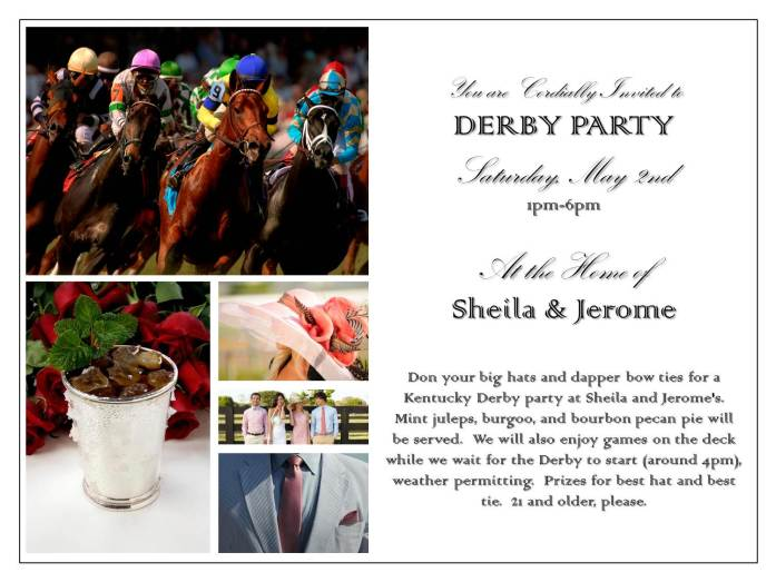 derby invite
