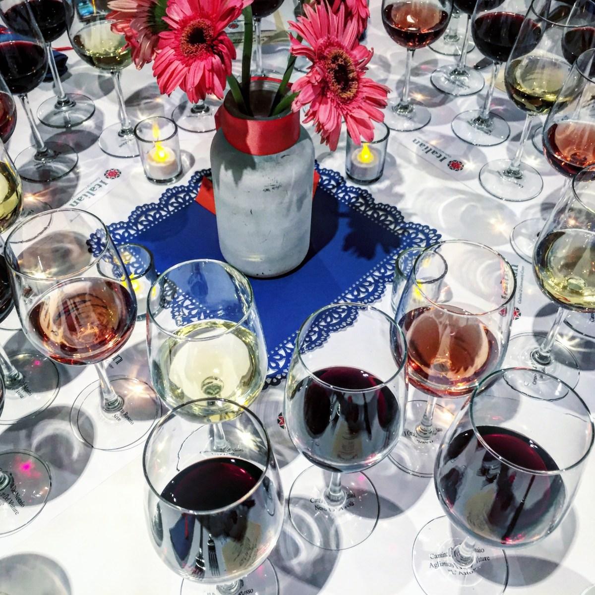 Italian Wine Tastings/Pairings at ICCC