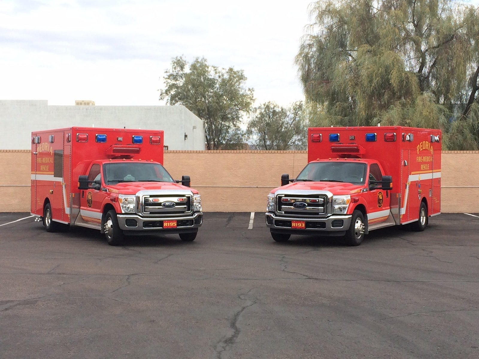 Peoria Storage Peoria Fire Medical Department Demers Mxp150 Ambulances Redsky