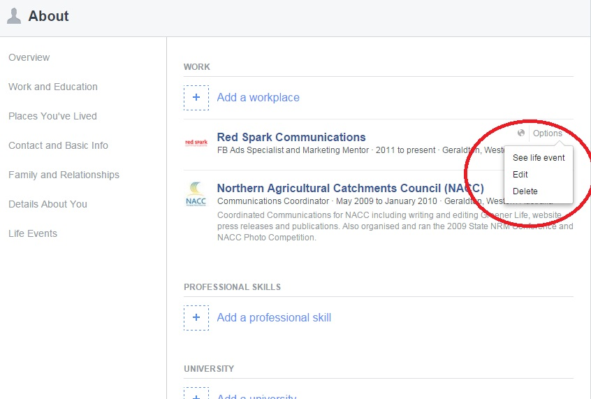 How To Link Your Profile to Your Facebook Business Page - Red Spark - how to make business profile