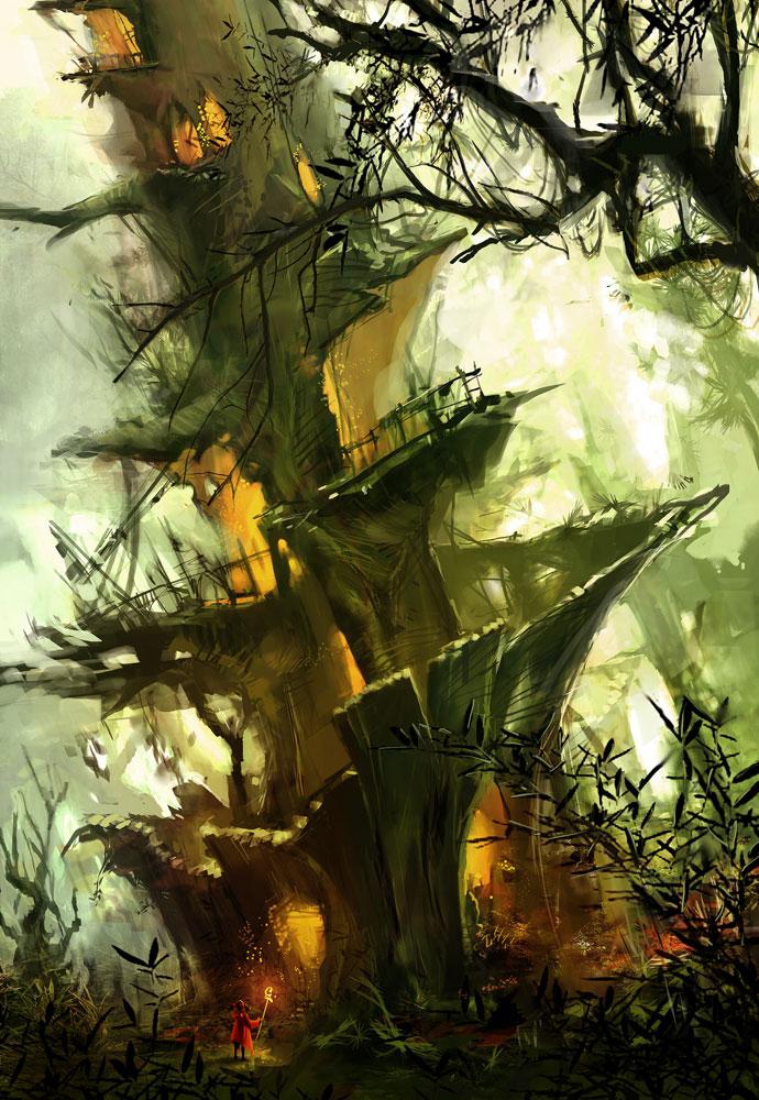 3d Tinkerbell Wallpaper Environment Art David Cheung