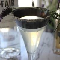 Vegan Lavender Martini