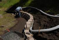retaining wall drainage | Redwood Acres