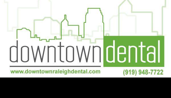 Business Card Design Downtown Dental \u2013 Redwood Raleigh  Wake