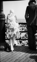 Man and Woman on Coney Island Boardwalk, From Behind by Walker Evans (source: http://bit.ly/1dR1UaR)