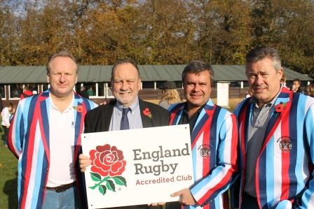 Reeds Weybridge RFC Accredited by England Rugby RFU