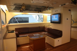 Fishing Charter Boats - Capt. Jay's Spellbound Interior