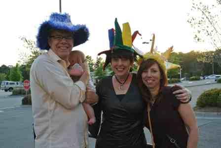 Some of Jonny's wonderful family!
