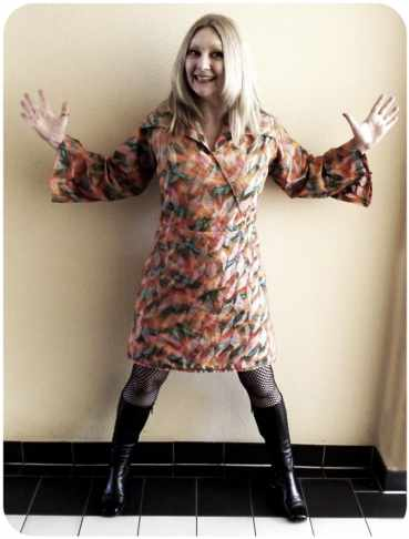 Sheri is ready for a groovy Fall!  :)