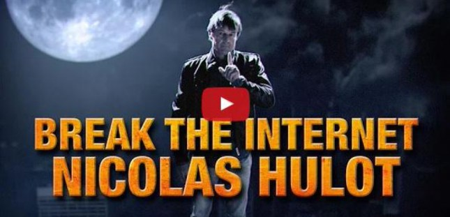 La vidéo Break the Internet a déjà été vue plus de 3,5 millions de fois sur internet. Capture d'écran vidéo Break the Internet