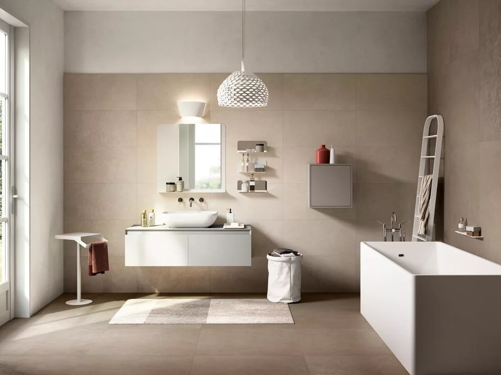 Mobile Bagno 60 Cm Porcelain Tiles That Look Like Venetian Plaster