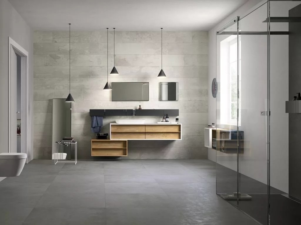 Luminaires Salle De Bain Castorama Porcelain Tiles That Look Like Fabric | Design Industry