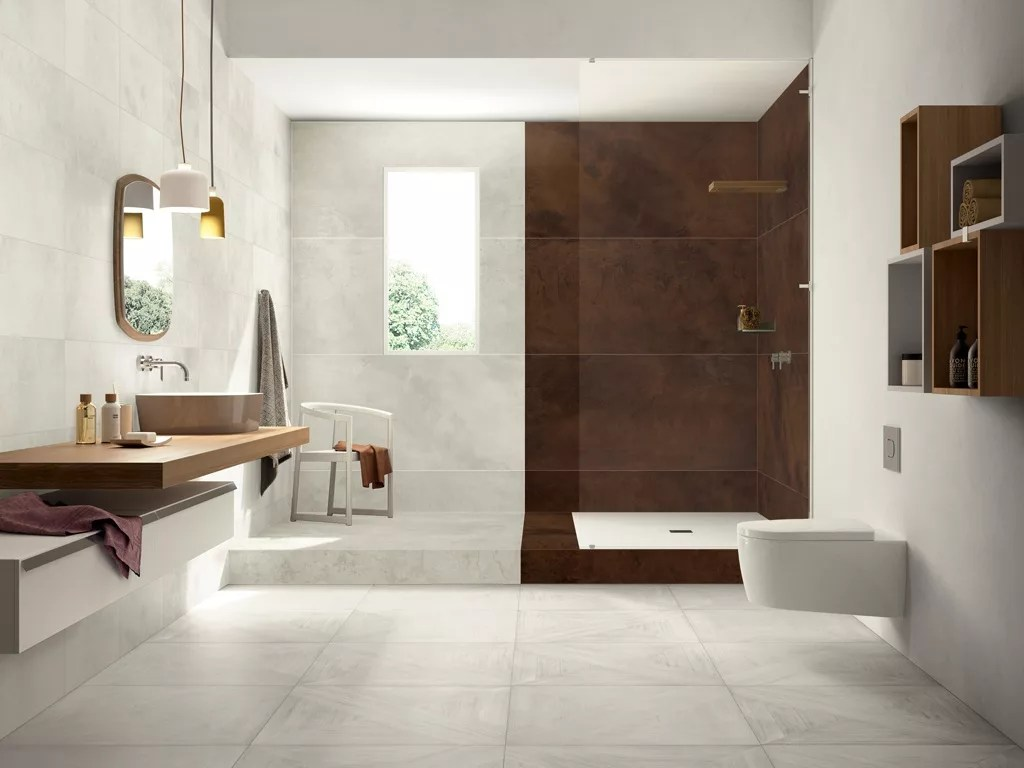 Wood Looking Tile Bathroom Italian Tiles That Look Like Assembled Parquet Panels Mansion