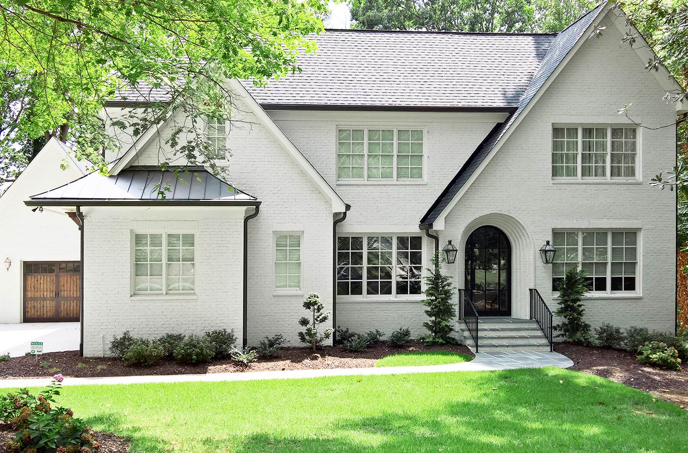 Exterior House Finishes Limewash Brick Painting Refined Home Finishes
