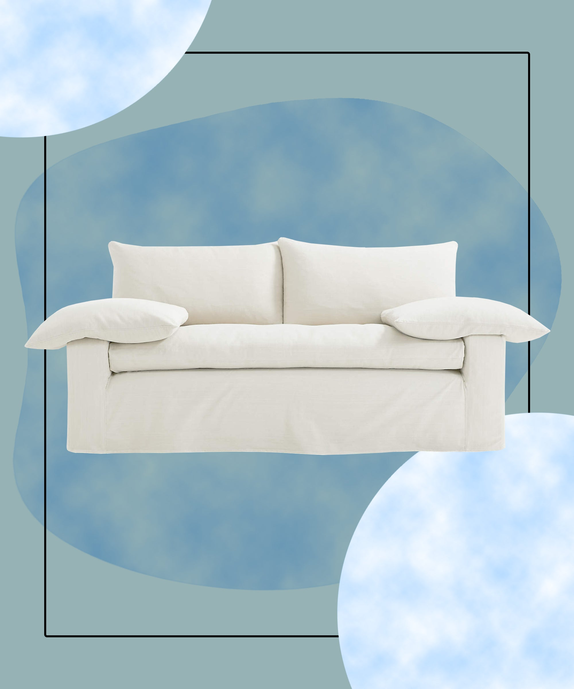 Cloud Couch Overstuffed Furniture Trend 2021