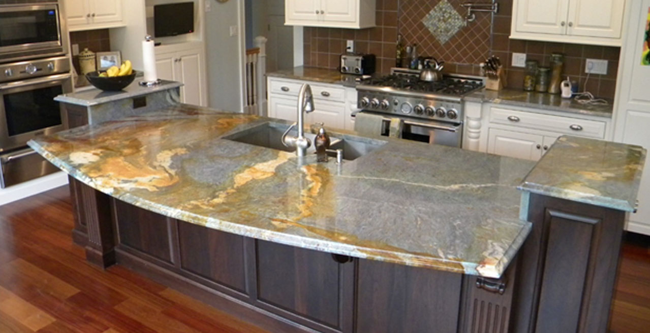 Countertop For Kitchens Granite Vs Quartz Reflect House