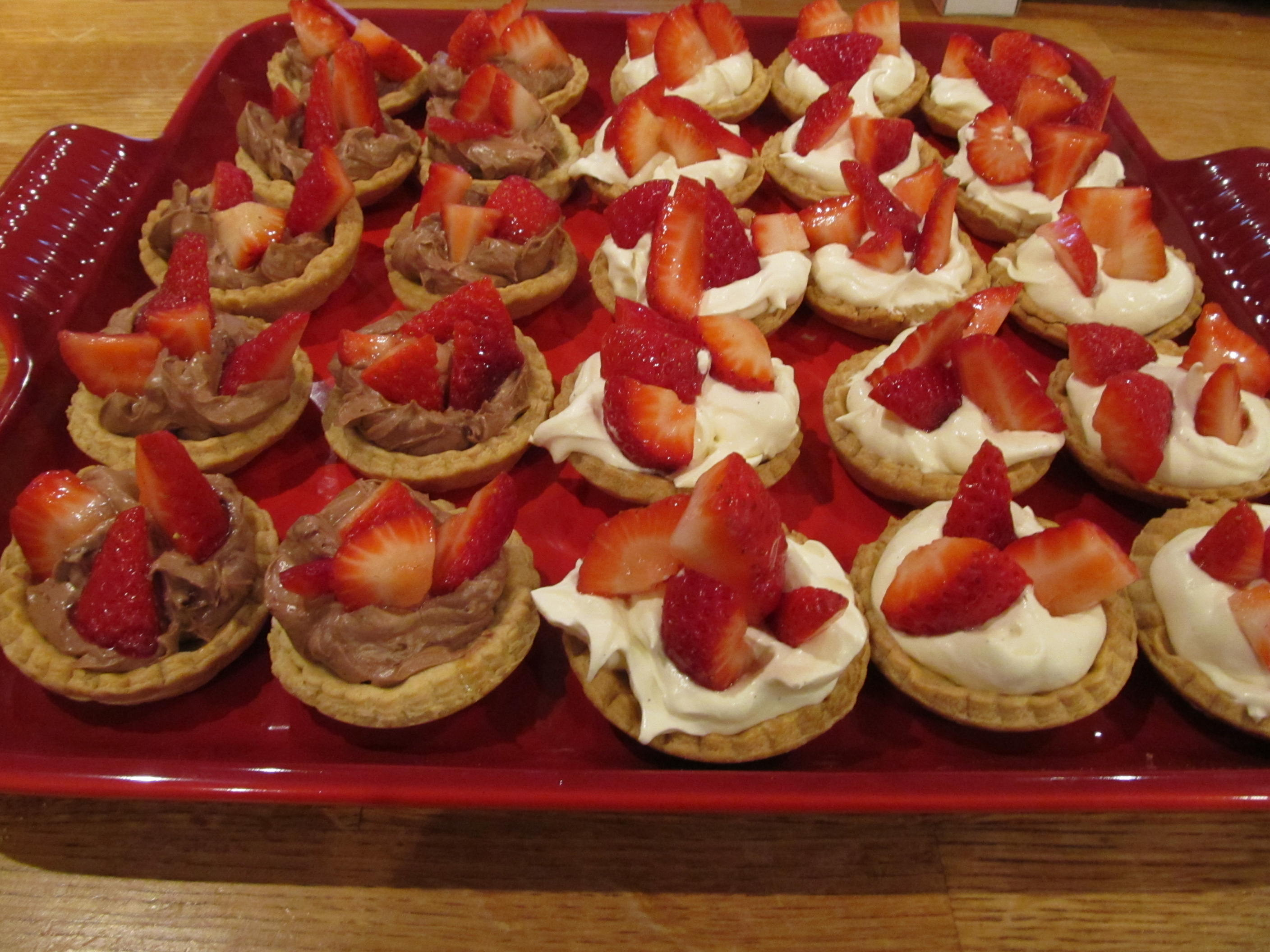 Canape L Sweet Strawberry Canapés | Reflections Of A Foodie