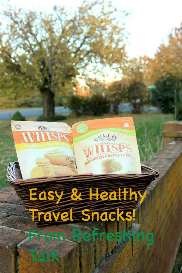 Cello Whisps are so light, tasty, and portable for travel!