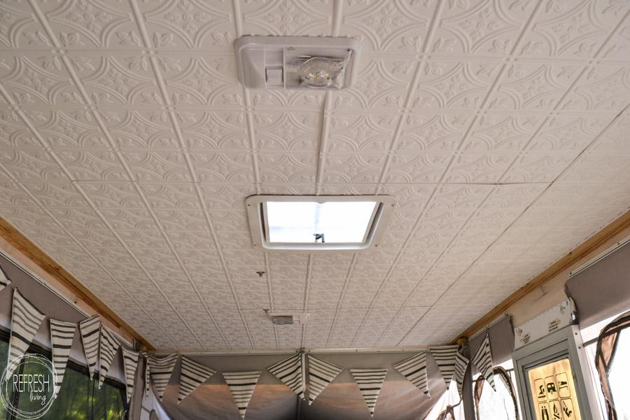 Rv Ceiling Repair Water Damage