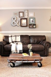 Industrial Cart Coffee Table DIY | Refresh Restyle