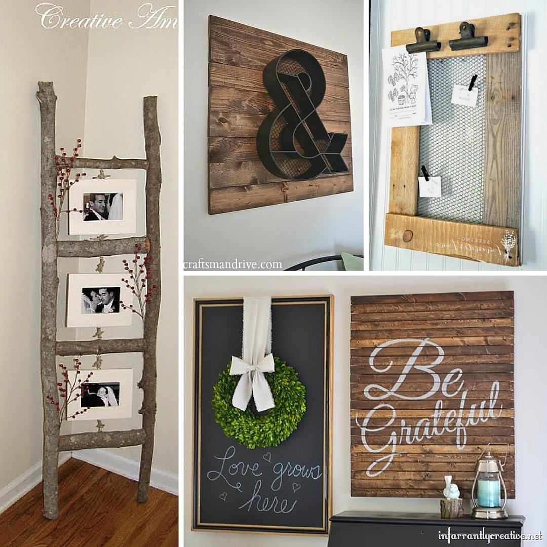 Diy Deco 31 Rustic Diy Home Decor Projects Refresh Restyle