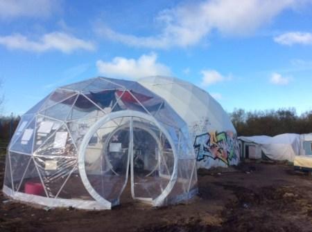 "Good Chance Calais, ""The Dome"""