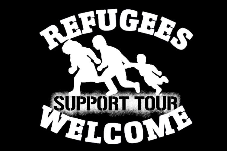 PM01: Refugee support tour fährt von Berlin auf den Balkan